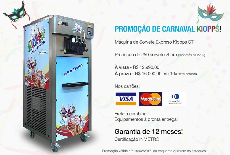 Promo��o de Carnaval Kiopps!